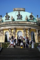 Sanssouci Castle in Potsdam - Caution: For the editorial use only  Not for advertising or other commercial use!