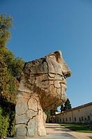 ´Tindaro Screpolato´, a sculpture by the Polish artist Igor Mitoraj  Boboli Gardens  Florence, Tuscany, Europe.