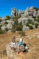 Torcal de Antequera Natural Park, Antequera, Malaga-province, Spain