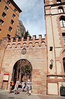 Benedictine Montserrat Monastery, Barcelona, Catalonia, Spain, Europe
