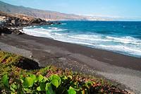 Las Viudas beach in Arafo Tenerife