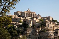 The hilltop village of Gordes, Louberon, Provence, France