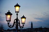 Street lamp, Venice, Italy