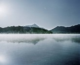 Fog on a lake