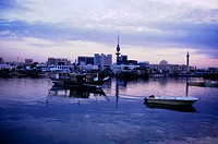 Kuwait City Kuwait Fishing Harbour