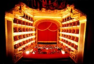 Teatro Massimo di Palermo before a performance begins