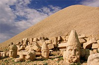 Nemrut Dagi (Nemrut or Nemrud) is a 2,134 m 7,001 ft high mountain in southeastern Turkey, notable for the summit where a number of large statues are ...