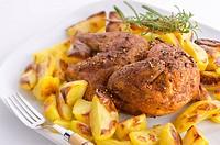 hhnchen braten mit Back_Kartoffeln