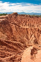 Area of Cuzco, Desert Tatacoa, Huila, Neiva, Colombia