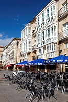Square of Vitoria, Alava, Basque Country, Spain