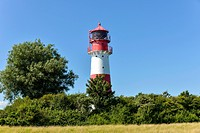 Falshoeft Lighthouse, Geltinger Birk, Schleswig-Hostein, Germany, Europe