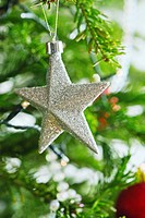 Star shaped Christmas ornament