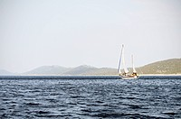 Illustrative photo, sailing yacht, cruising, cruiser, sea, recreation, holidays, Dalmatia, Croatia on September 2012 CTK Photo/Libor Sojka