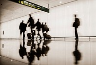 El Prat airport, Barcelona, Spain