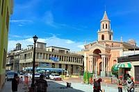 Street in old town, Callao, Peru