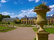 Orangery, Friedenstein Castle, Gotha, Thuringia, Germany