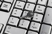 keyboard and key