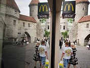 McDonald´s restaurant in Old City in Tallin, Estonia