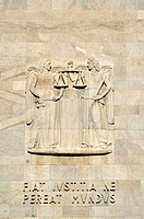 high_relief at law courts 2, milan