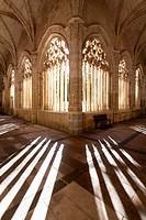 Cloister of Santa Maria cathedral, Segovia, Castilla-Leon, Spain