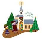 Christmas Church (thumbnail)