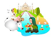 Attractions of india (thumbnail)