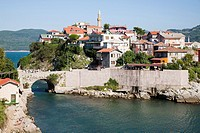 ancient walls and citadel, amasra, black sea, turkey, asia