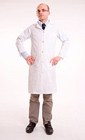 Man in lab coat