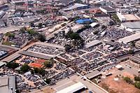Aerial view, Avenue Marques of São Vicente, Park Industrial Tomas Edson, Barra Funda, São Paulo, Brazil