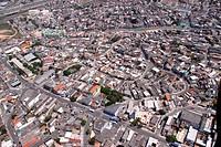Aerial view, urban city, Garden Piratininga, Highway President Castelo Branco, Osasco, São Paulo, Brazil