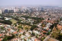 Aerial view, urban city, Alphaville, Barueri, São Paulo, Brazil