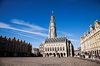 Arras Cathedral, Place des Heros, Arras Nord Pas de Calais, France
