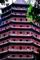 Hangzhou´s Six Harmonies Pagoda