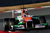 22.02.2012, Barcelona, Spain, Nico Hulkenberg GER, Sahara Force India Formula One Team _ Formula 1 Testing, day 2 _ Formula 1 World Championship