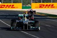 Nico Rosberg GER Mercedes GP, F1, Australian Grand Prix, Melbourne, Australia