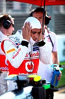 Lewis Hamilton GBR McLaren Mercedes, F1, Australian Grand Prix, Melbourne, Australia
