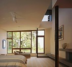 Massachusetts Modern Home: Master Bedroom