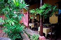 Typical Colombian patio from the Antioquia Region