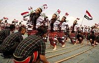 Chapchar Kut is the harvest festival celebrated in Mizoram, a state of Northeast India. The Cheraw, or bamboo dance, is performed by young boys and gi...