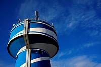 Moderner Wasserturm in Lothringen