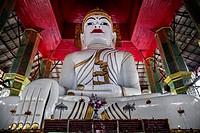 Seated Buddha at Maha Ganayon Kyaung monastary