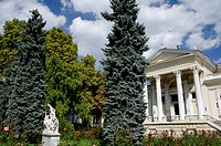 Ukraine, Odessa. Archaeological Museum, founded in 1825, built in Classical_style.