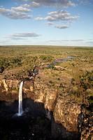 Magela Falls, Kakadu National Park, Northern Territory, Australia _ aerial