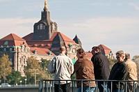 Landesregierung Building Dresden, Germany.
