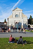 Church of Santa Maria Novella, Firenze, UNESCO World Heritage Site, Tuscany, Italy