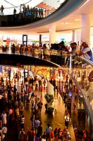 People in Dubai Mall, Dubai UAE