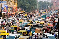 Chandni Chowk street in Old Delhi