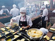 Mistura food fair in Lima Peru