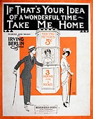 If That's Your Idea of a Wonderful Time, Take Me Home, Musical Poster, 1914