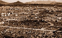 Ruins after the Atomic Bomb, Hiroshima, Japan, 1945
